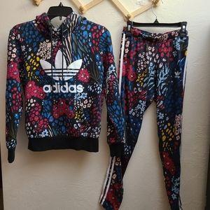 Adidas originals Floral set